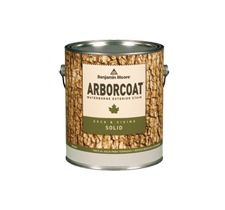 Arborcoat 640 Solid Deck and Siding Stain